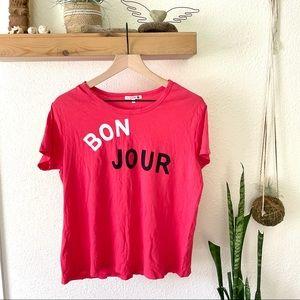 Sundry Bon Jour top